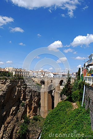 The New Bridge, Ronda, Spain.