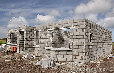 New Build Concrete House Stock