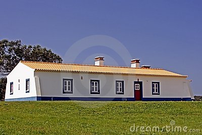 New Built Portuguese House Royalty Free Stock Photography - Image: 2117577