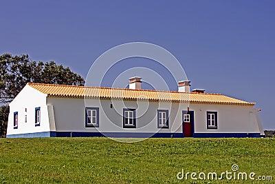 New built portuguese house