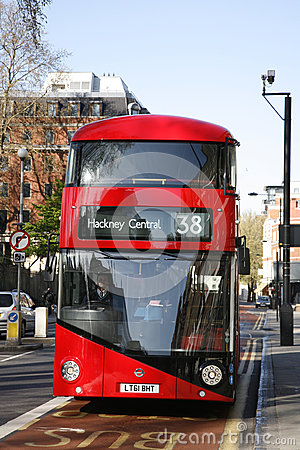 New Bus For London Editorial Stock Image