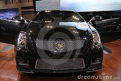 New Cadillac CTS-V coupe Editorial Stock Image