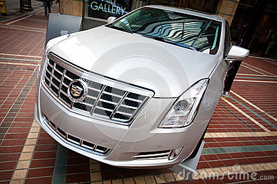 New Cadillac Luxury Car Editorial Stock Photo