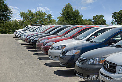 New Car Lot