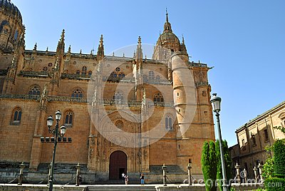 The New Cathedral in Salamanca