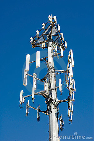 New Cellular transmission tower