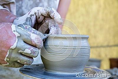 New ceramic pot