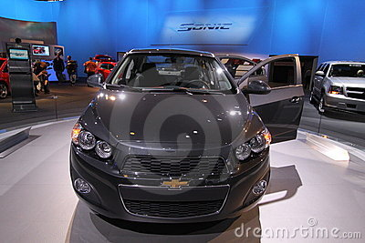 New Chevrolet Sonic 2012 Editorial Image