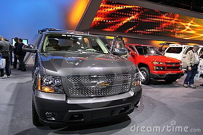 New Chevrolet Tahoe 2011 Editorial Stock Image