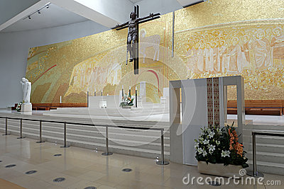 New church of Fatima altar