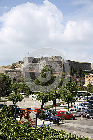 The new citadel in Corfu Town (Greece) Editorial Photography