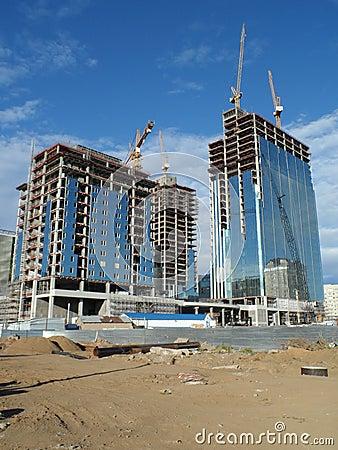 Free New City - Constructions Stock Photo - 77152680