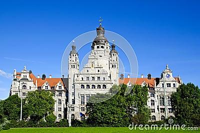 New city hall in Leipzig