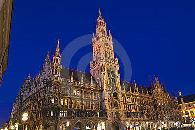 New city hall in Munich