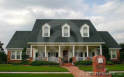 New Classic Style House