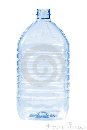 Free New, Clean, Empty Plastic Bottle Blue Color On White Background Royalty Free Stock Images - 80600109
