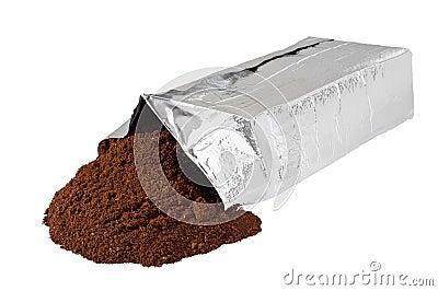 New coffee vacuum foil bag