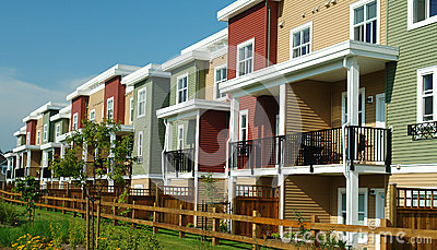 New Colourful Homes Row Houses