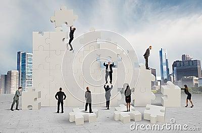 New company Stock Photo