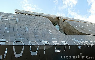 The new Cooper Union Academic Building Editorial Stock Image