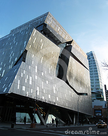 New Cooper Union Academic Building Editorial Image
