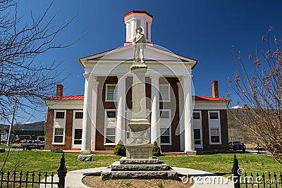 New Craig County Confederate Memorial Editorial Image