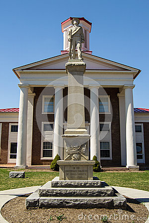 New Craig County Confederate Memorial Editorial Image