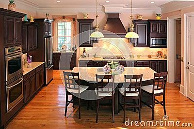 New custom kitchen