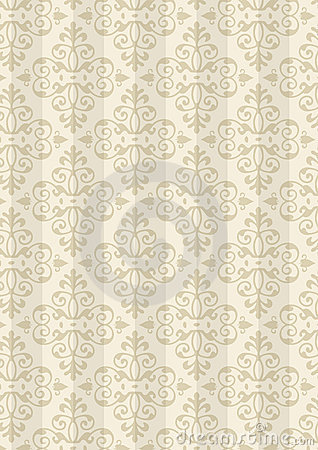 Free New Damask Style Pattern Royalty Free Stock Images - 5632629
