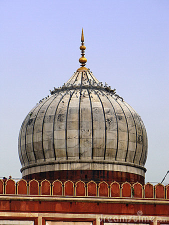 New Delhi:Jama Masjid mosque, the largest in India