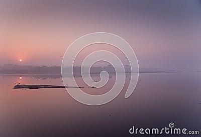 New Delhi sunrise