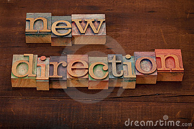 New direction concept