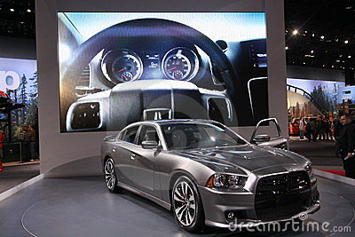 New Dodge Charger Editorial Photography