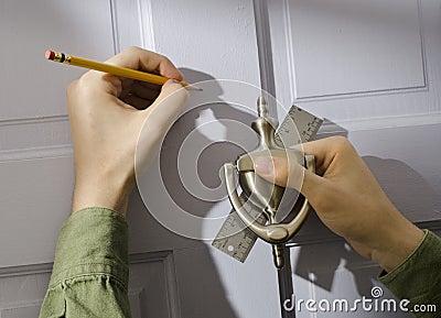 New door knocker