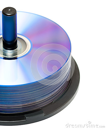 Free New DVD Discs Royalty Free Stock Image - 25215386