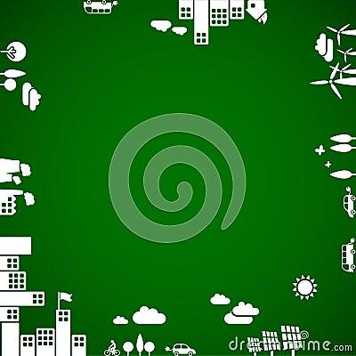 Free New Ecology Background Royalty Free Stock Image - 13243526