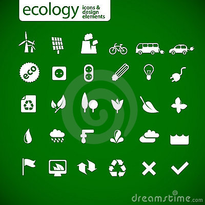 Free New Ecology Icons Stock Photos - 13243533