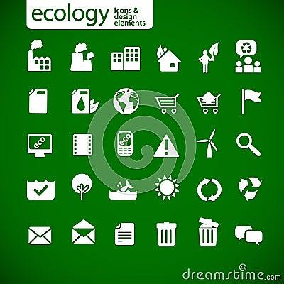 Free New Ecology Icons 2 Stock Image - 13243531