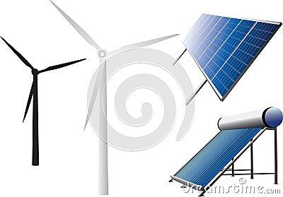 New energy icons