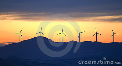 New energy wind turbines