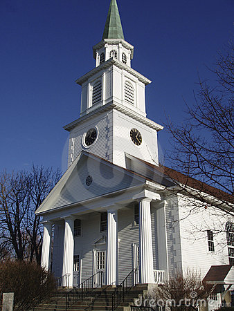 Free New England Church Stock Photo - 583440