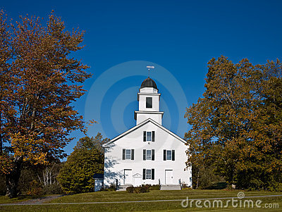 New England Church Fall