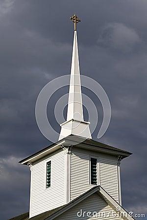 New England Church Steeple