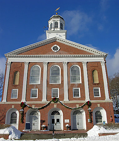 New England Town Hall.