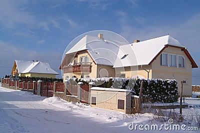 New family houses