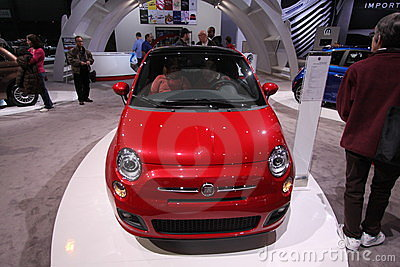 New Fiat 500 Sport Editorial Stock Image