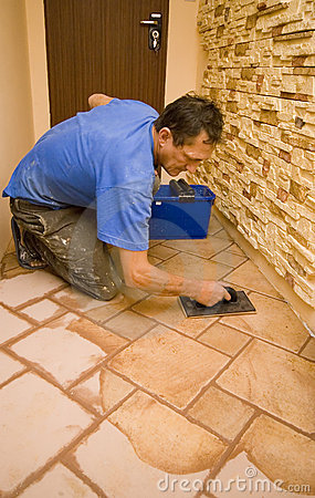 Free New Floor Tiles Stock Image - 4436111