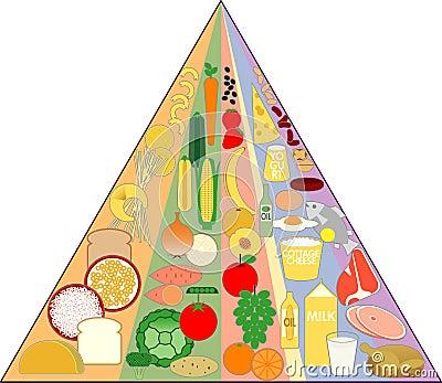 New Food Pyramid Chart