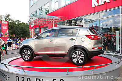 New generation of Kia Sportage Editorial Image