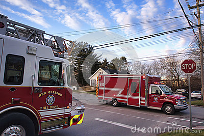 Fire Department Editorial Image